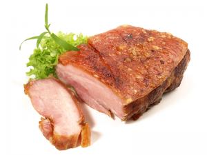 Schweinebrüstl